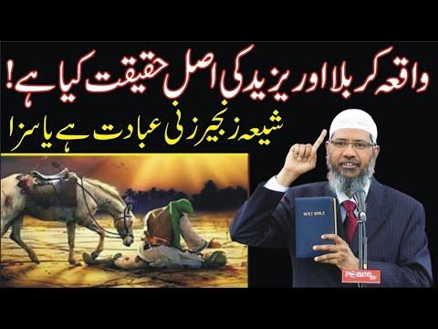 Download Dr Zakir Naik About Yazeed  Waqia Karbala    Ahtisham TRT