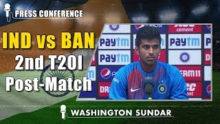 A bowler like Chahal can change the game around in middle - Washington Sundar