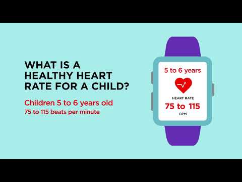 What Is A Healthy Heart Rate For A Child?