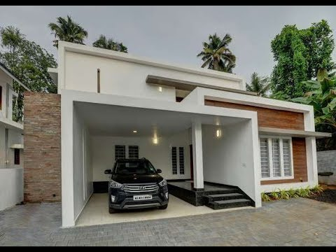 Cute Small Double Floor House 1300 Sft for 13 lakh | Elevation | Design | Interior