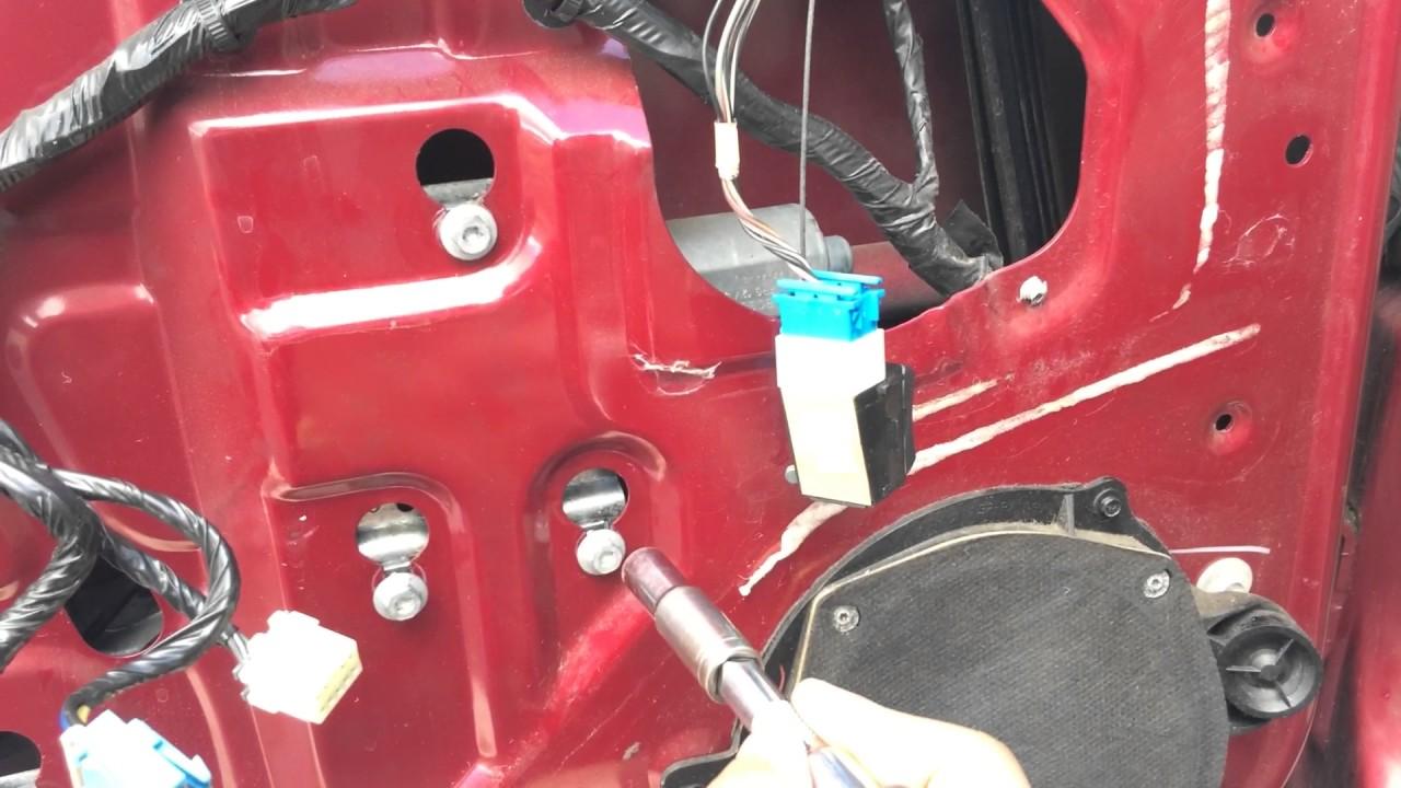 2005 Chevy Impala Window Regulator And Motor Diy Youtube