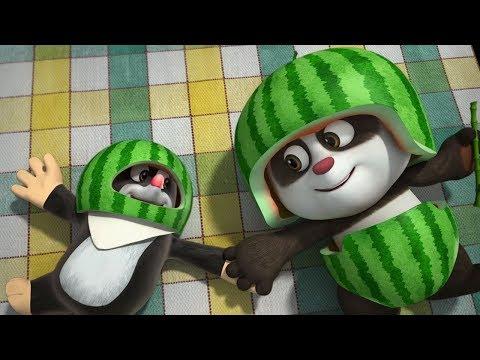 Мультики для детей - Кротик и Панда - Большой арбуз + Спорт в лесу