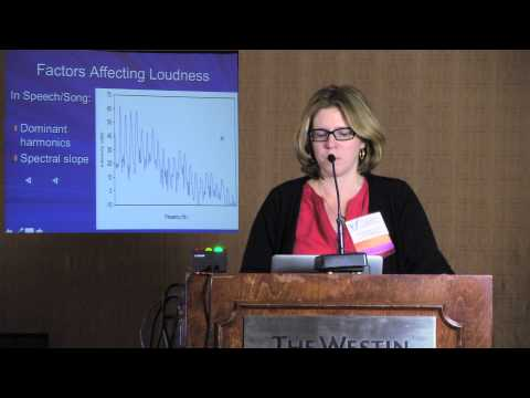 Perception of Voice: An Overview - Tanya Eadie Lecture