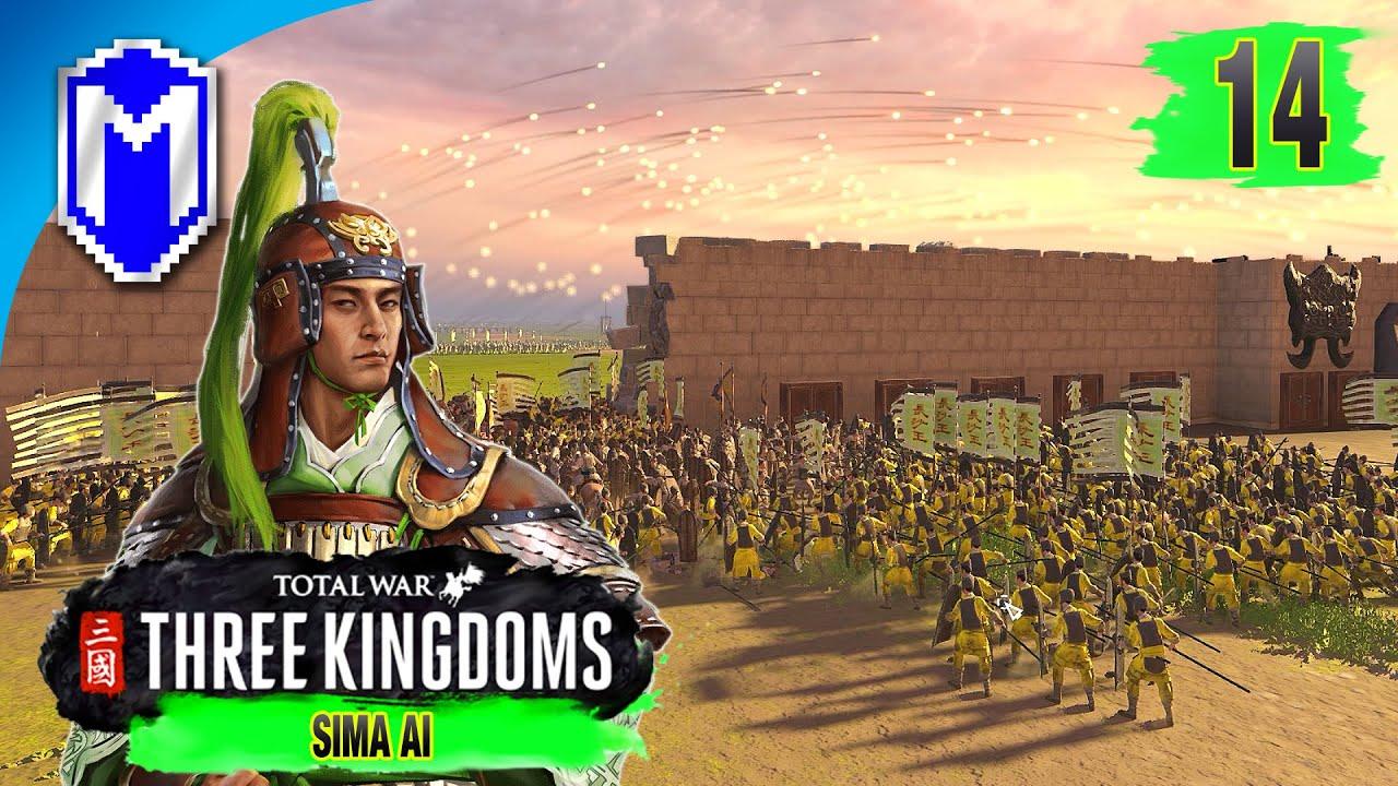 New Territory - Sima Ai - Eight Princes Records Campaign - Total War: THREE  KINGDOMS Ep 14