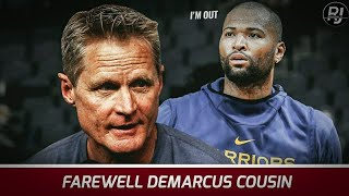 DEMARCUS COUSINS, OUT NA sa Golden State Warriors!! ANONG Dahilan??