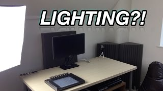 How Do I Light My Studio for Videos?!