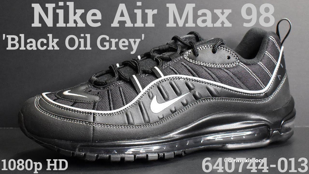 Nike Air Max 98 'Black Oil Grey' 640744