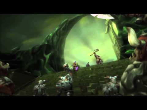 81. World of Warcraft - Warlords of Draenor - Cinemática final Archimonde (1080p)