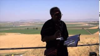 Jezreel Valley at Megiddo, 2015 Israel Tour