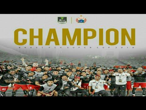 Persija Jakarta Juara Boost sports fik super cup 2018 ! CHAMPIONE