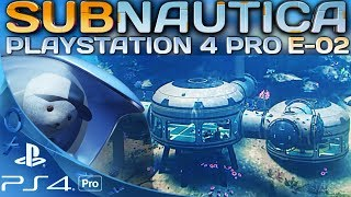 Subnautica Deutsch PS4 Pro Base bauen Playstation German Deutsch Gameplay #2