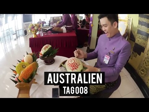 Nur am ESSEN - Tag 8 - AUSTRALIEN - WORK & TRAVEL - BACKPACKING