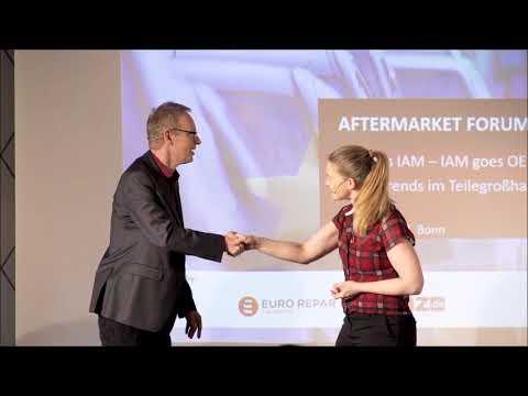"""Improvsion cabaret of the """"Springmäuse"""" at the Aftermarket Forum 2017"""