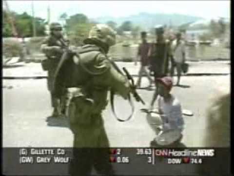 Australian M113 Gavins Save the Day in East Timor!