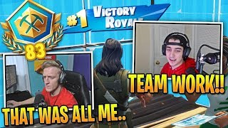 Tfue Shows AMAZING Teamwork in INTENSE Pro Squads Game!