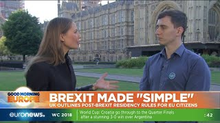Brexit made simple? UK outlines post-Brexit residency rules for EU citizens