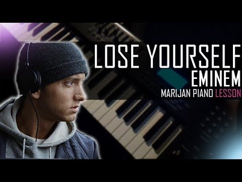 How To Play: Eminem - Lose Yourself | Piano Tutorial Lesson + Sheets