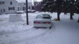 Stuck Buick with Snow tires