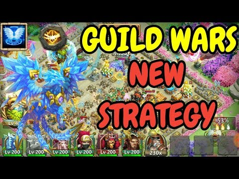 Guild Wars L New Strategy L Lazulix Bombing L Castle Clash