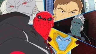 """Marvel - Команда """"Мстители"""" -  Сборник мультфильма все серии подряд, сезон 1 серии 17 - 20"""
