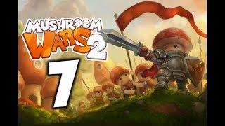 Mushroom Wars 2. Прохождение. Часть 7 (Зима. Заморозка)