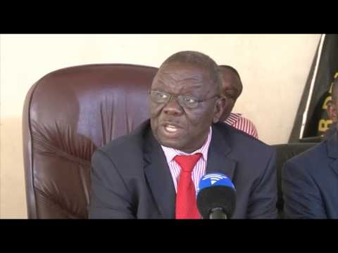 President Tsvangirai addresses the media - 09 March 2017