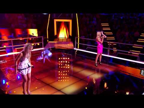 Elise Baker Vs LauraLeigh Smith: Burn  The Voice Australia 2014