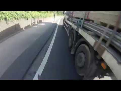 Seabro Lorry - KX03 RVN - tries to give his guard rails a trial