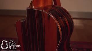 McPherson MG 4.5 Acoustic Guitar, Striped Macassar Ebony & Redwood