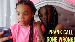 PRANK CALL GONE WRONG! 😱