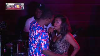 Simi sing for Adekunle Gold and reasured him of there love