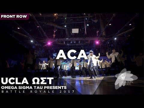 ACA (1st Place) | Battle Royale 2017 [Official Front Row 4K]