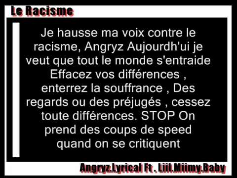 le racisme paroles liil miimy baby ft angryz