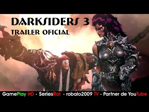 DARKSIDERS 3 TRAILER | SeriesRol