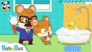 Whiskers Doesn't Want to Take A Bath | Kids Good Habits | Picture Book Animation for Kids | BabyBus