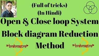 Block diagram reduction method (Control System, Lecture-1) by SAHAV SINGH YADAV