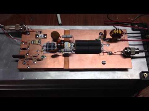 1.8-54mhz 1.25KW  MRFE6VP61K25H LDMOS AMPLIFIER