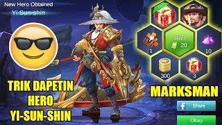 TRICK MUDAH DAPETIN YI-SUN-SHIN DARI LUCKY SPIN :D - Mobile Legends Indonesia