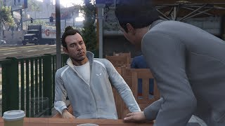 GTA V Michael kills Fabien