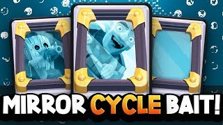 FAST MIRROR BAIT CYCLE DECK Mirror UNDERRATED
