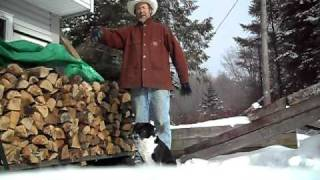 My Wood Crib And Some Firewood Terms Explained