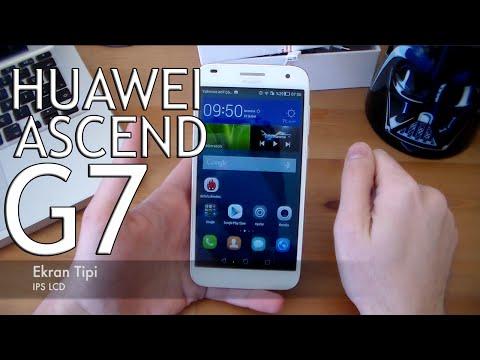 Huawei Ascend G7 İnceleme (Türkçe)