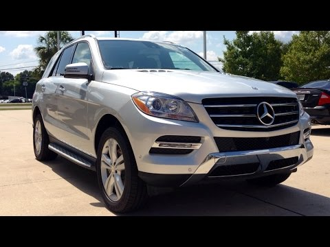 2015 Mercedes Benz M Class ML350 Full Review, Start Up, Exhaust