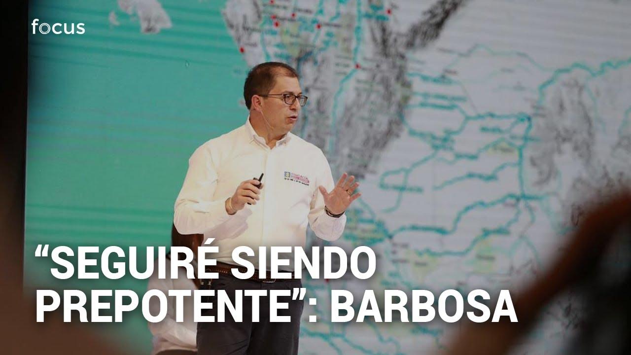 """""""Seguiré teniendo el ego alto"""": La respuesta del Fiscal Barbosa a sus críticos"""