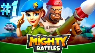 Let's Play MIGHTY BATTLES Episode #1 | NEW GAME
