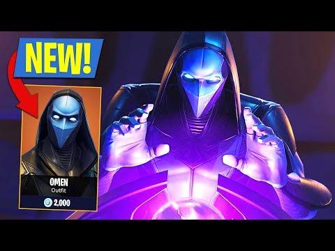 Fortnite Legendary Omen Skin + Oracle Axe! Fortnite Battle Royale
