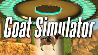Goat Simulator ★ SPACE COWS | Goat Simulator DLC Glitches (Goat Simulator Funny Moments)