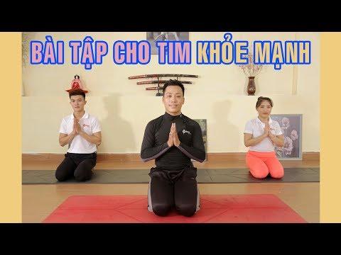 Bài tập yoga giúp cho tim khỏe mạnh   Yoga tại nhà Hóng Showbiz