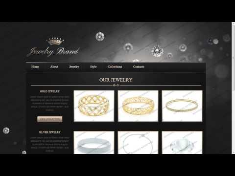 Jewelry Responsive Website Template