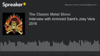 Interview with Armored Saint's Joey Vera 2016